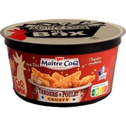 Coq box - Tender de poulet crusty  380g
