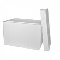 CAISSE POLYSTYRENE (X2) 50 LITRES