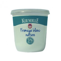 Fromage blanc nature 3%mg Ker Noelle 1kg
