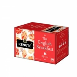 Thé Noir English Breakfast Renuté 25 Sachets 50g