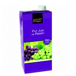 Pur jus de raisin 100% fruits pressés 1L