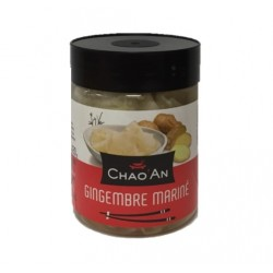 Gingembre fine lamelle  mariné Chao'an 250g