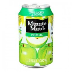 Minute maid pomme canette 33cl