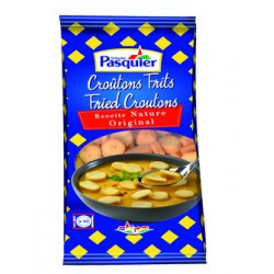 Croutons nature ronds frits Pasquier 500g